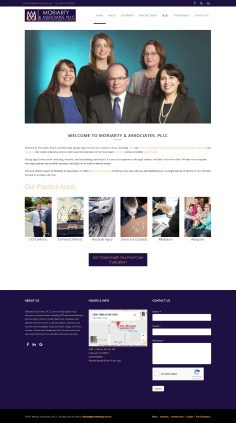 Hummingbird Marketing Services Portfolio: Moriarty & Associates, PLLC, Today
