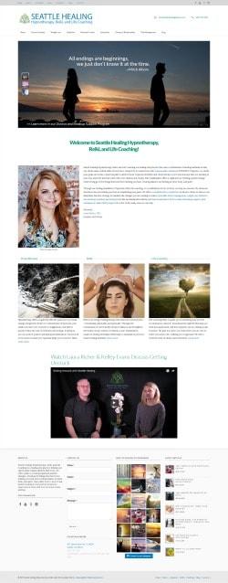 Hummingbird Marketing Services Portfolio: Seattle Healing Today